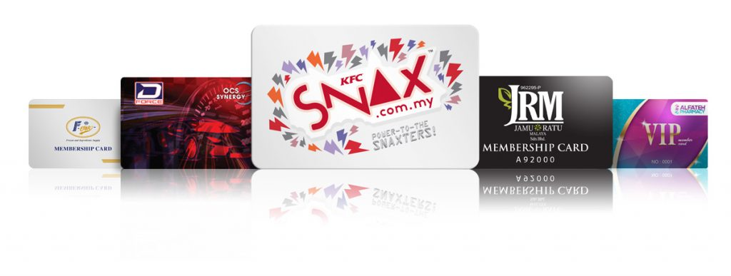 Pre-printed Plastic cards products
